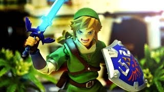 Download Zelda Stop Motion - Figma Link and Black Rock Shooter 薩爾達傳說停格動畫 Video