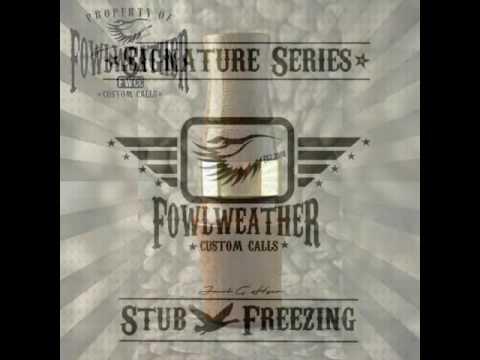 Fowl Weather Custom Calls Stub Freezing Short Reed