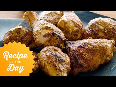Recipe of the Day: Guy's Chipotle-Mango BBQ Chicken | Food Network
