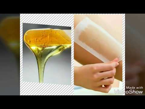 Homemade wax || easy way to make wax