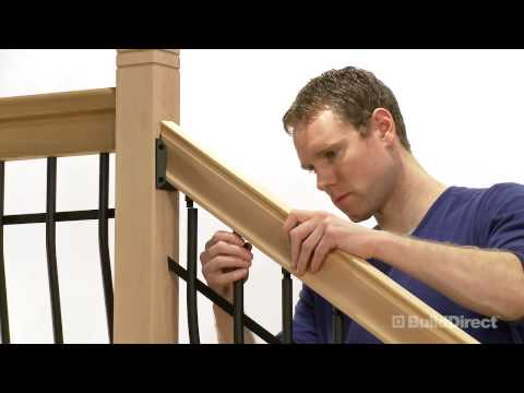 How to Install Tuscany Stair Railing | BuildDirect