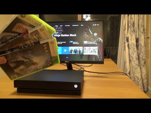 What Happens When you put a Xbox 360 game into a Xbox One X