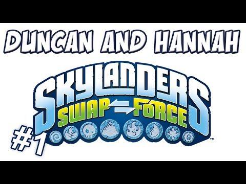 Skylanders: Swap Force - Co-op part 1
