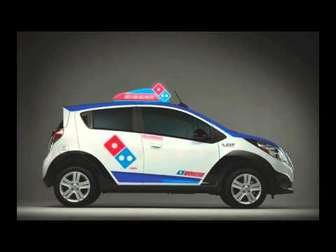Domino's cooks up the perfect pizza delivery vehicle