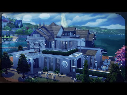 The Sims 4: House Building - The Golden Mermaid (Restaurant)