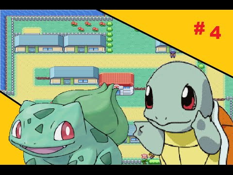 Pokemon FireRed Episode 4:Blbasaur si Squirtle