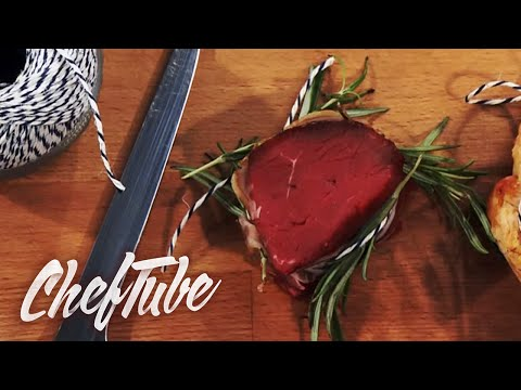 How to make and tie Meaty Medallions