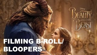 BEAUTY AND THE BEAST (2017) B-Roll Bloopers Behind The Scenes
