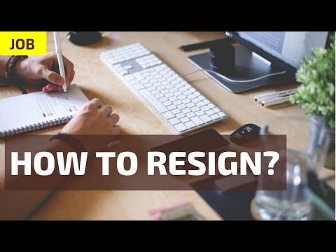 Resign karne ka tarika? Code Hindi