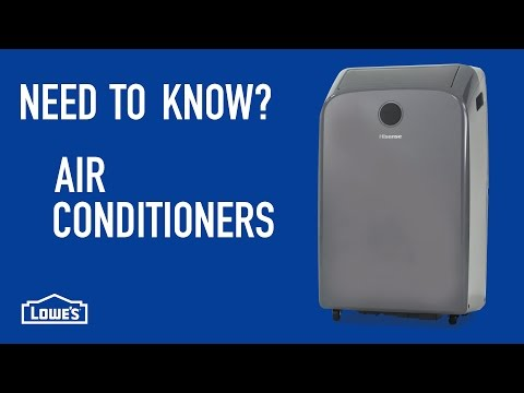 Need to Know? Air Conditioners