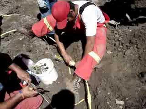 Repairing a Broken Gas Line