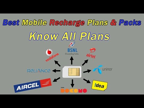 How To Check Recharge Plans In Mobile - Prepaid Mobile Recharge Plans App - iReff App 2017