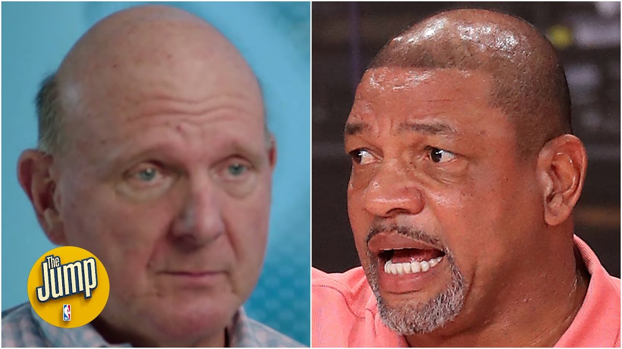 Steve Ballmer explains parting with 'mentor' Doc Rivers, talks Clippers 'version update' | The Jump