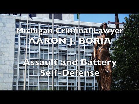Assault and Battery Self Defense