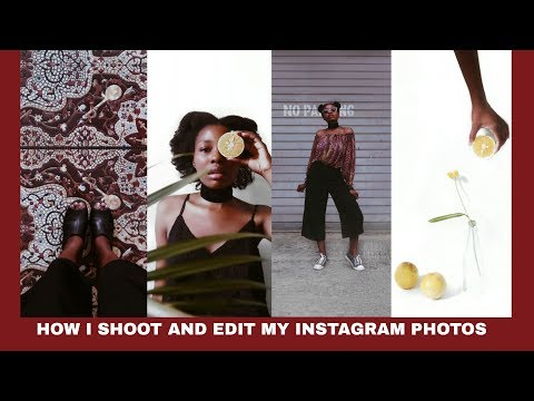 How I Shoot and Edit My Instagram Photos (blogger edition 2018) | Mira La Belle