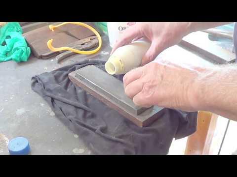 How To  Sharpen a Plane Blade (Workshop Series) #1