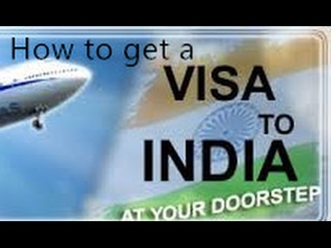 ~ Visit India - 1~:  Indian Visa Application