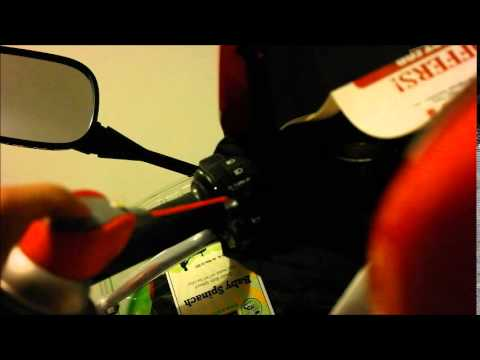 How to fix sticking turn signal switch on a motorcycle (cbr 600rr)