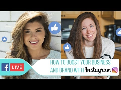 Facebook LIVE with Talia Koren: How To Boost Your Business and Brand with Instagram