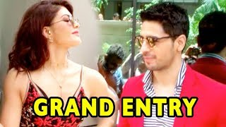 Sidharth Malhotra And Jacqueline Fernandez Make Grand Entry At Bandook Meri Laila Launch