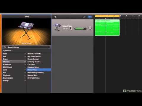 GarageBand 301: Make EDM - 3. Designing the Chord Synth Sound