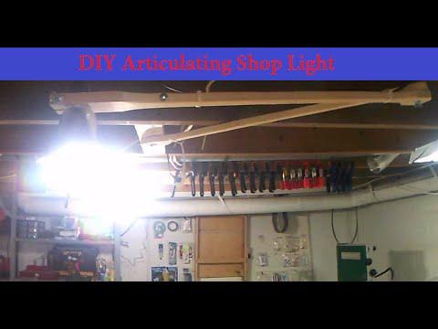 Diy Articulating Shop Light