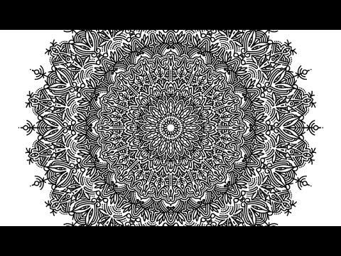 Drawing A Mandala Using Adobe Illustrator Cc