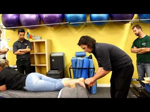 How to tape an ankle for posterior impingement & then the Achilles by myPhysioSA