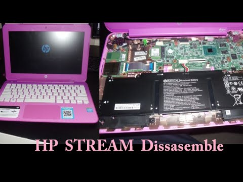 Hp Stream Dissasemble Take Apart Laptop 11 13 14 X360 Pro G3 G2 Remov