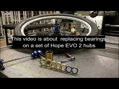 Boca Bearings on a HOPE EVO 2 Hub Set