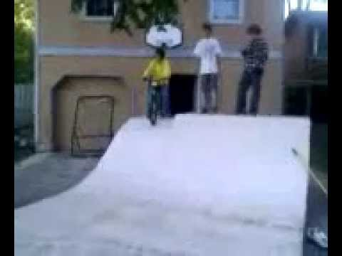 Home Made Half-Pipe