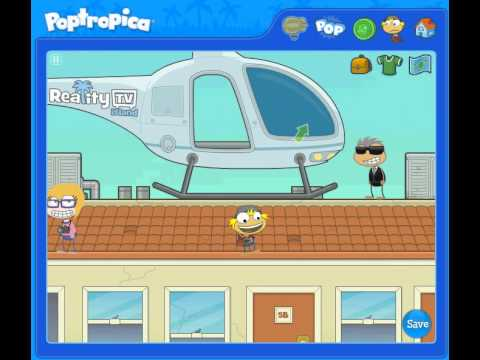 Poptropica: Reality TV Island - Walkthrough [FULL]