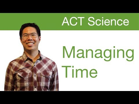 Top ACT Science Tips/Strategies - Managing Time Well