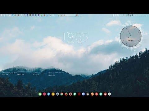 Simple Clean Desktop - Make Windows Look Better   Desktop Customization  