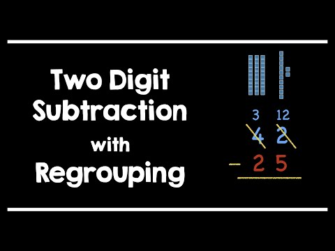 Common Core - Two Digit Subtraction with Regrouping