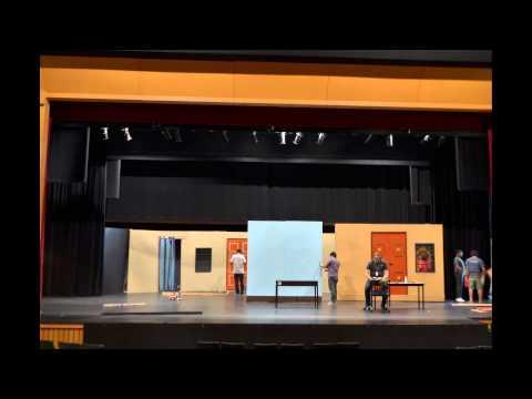 Ninaithaale Nadakum Stage and Props Set up