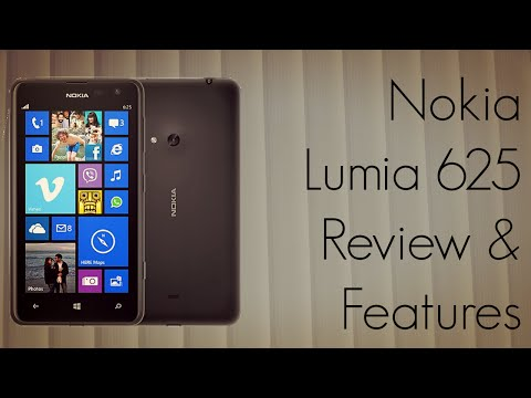 Nokia Lumia 625 Review - Apps / Features / Camera / Interface