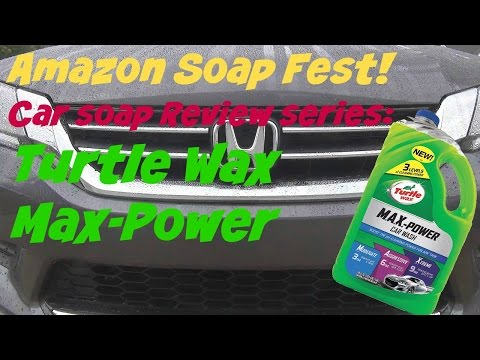 Amazon Soap Fest Review of Turtle Wax Max Power Car Wash