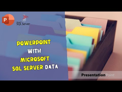 PowerPoint with MS SQL Server data