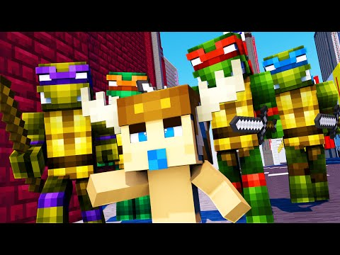 Minecraft - WHO'S YOUR DADDY - NINJA TURTLES!