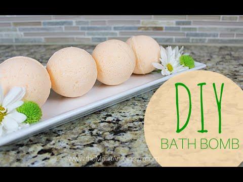 DIY Bath Bomb | Bath & Body Series | MariaAntoinette TV