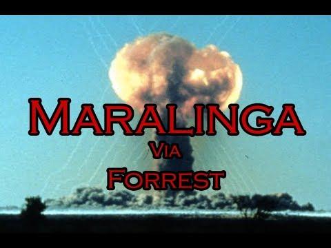 Maralinga A-Bomb test site via Forrest - Part 1