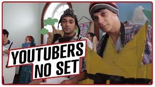 YOUTUBERS DE PENETRAS NO SET DE FILMAGEM! #CanalPenetras