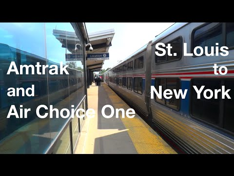 TRIP REPORT - Amtrak and Air Choice One, St. Louis to New York
