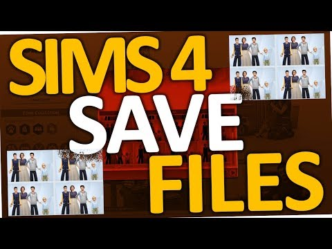 Sims 4 - How to find & delete or backup save files folder (PC)