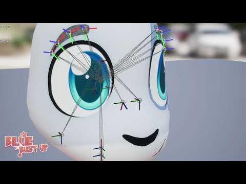 2D Eyes Maya to UE4