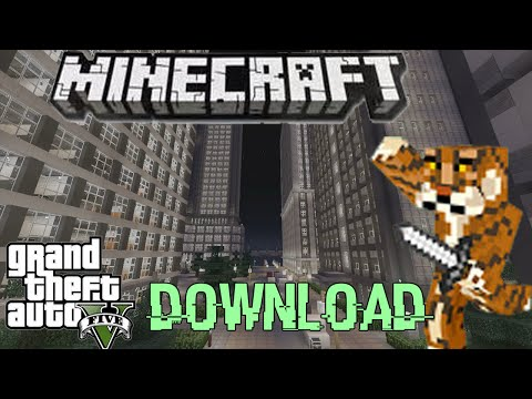 Minecraft xbox360 Modded GTA 5 Map Download