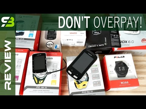 Don't Overpay! Heart Rate Monitors And Bicycle Computers Review.