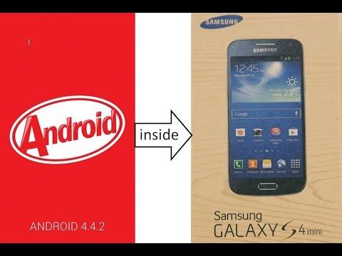 Upgrade Firmware Samsung Galaxy S4 Mini GT-I9190 KitKat 4.4.2 Official