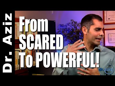 From Scared To Powerful: Have The Conversation You've Been Avoiding! | Dr. Aziz - Confidence Coach